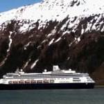 Zaandam Cruising into Juneau (2) 5-7-2013