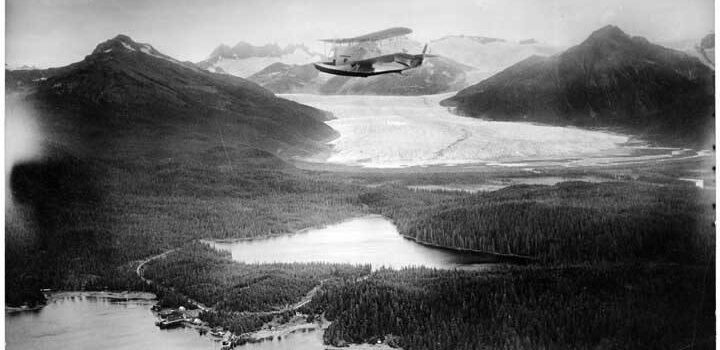 <strong><B>Slip Sliding Away, II|<b></strong> <i>Visitor Access to Rapidly Retreating Mendenhall Glacier Proposed by US Forest Service</i>